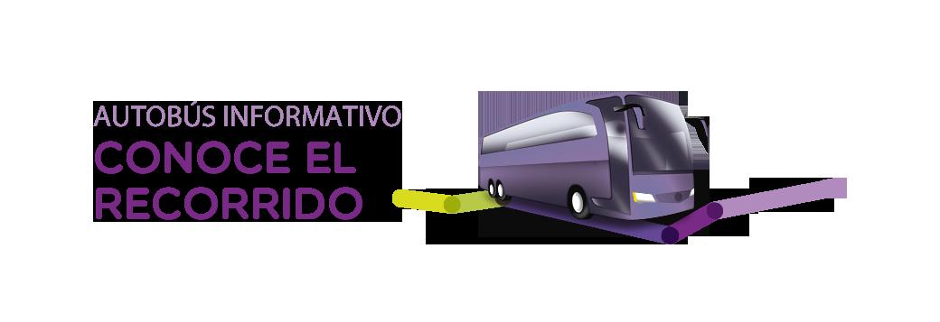 Autobús informativo: conoce el recorrido